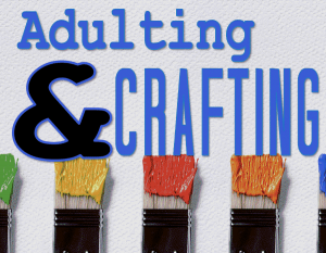 Adulting and Crafting logo