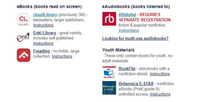 State of Kansas Library digital downloads